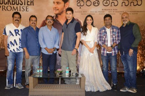 Bharat Ane Nenu Movie Success Meet Photos - 1