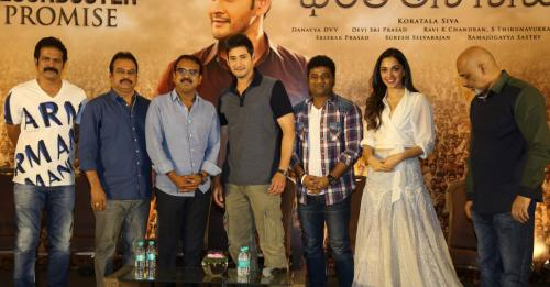 Bharat Ane Nenu Movie Success Meet Photos - 12