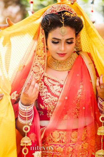 Ishaara Nair & Sahil Wedding Photos - 1