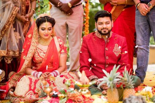 Ishaara Nair & Sahil Wedding Photos - 2