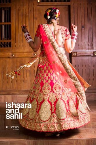 Ishaara Nair & Sahil Wedding Photos - 3