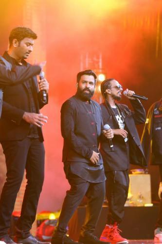 Kaala Audio Launch Photo Santhosh Narayanan