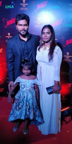 Kaala Audio Launch Photo Pa Ranjith Family